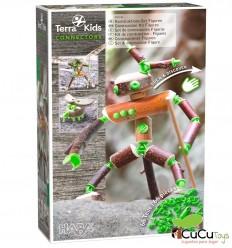 HABA - Terra Kids Connectors – Construction Set Figures - Cucutoys