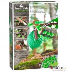 HABA - Terra Kids Conectores – Set de construcción Animales - Cucutoys
