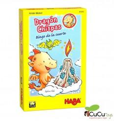 HABA - Dragón Chispas Bingo de la suerte - Cucutoys
