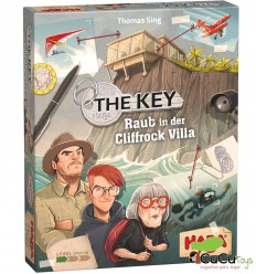 HABA - The Key – Robo en la mansión Cliffrock - Cucutoys