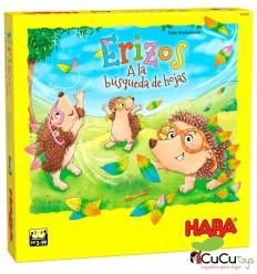 HABA - Erizos – A la búsqueda de hojas - Cucutoys