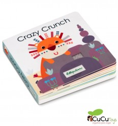 Lilliputiens - Crazy Crunch - Touch and Sound Book