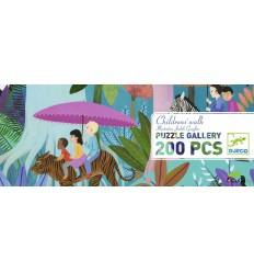 Djeco - Children's walk, puzzle gallery 350 pz