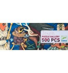 Djeco - Fantasy Orchestra, puzzle gallery 500 pz