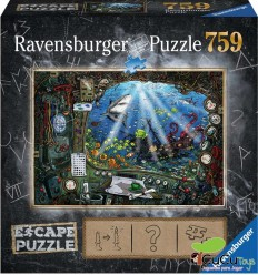 Ravensburger - Submarine, Escape Puzzle
