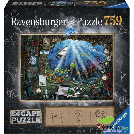 Ravensburger - En el submarino, Escape Puzzle