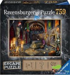 Ravensburger - En el Castillo del vampiro, Escape Puzzle