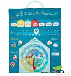 Lilliputiens - Tag für tag (Alemán), mi primer calendario de tela