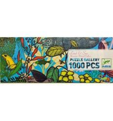 Djeco - Tierra y Mar, puzzle de galería 1000 pz