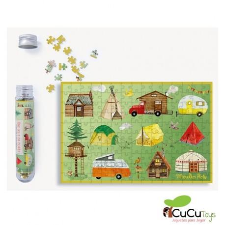 Moulin Roty - Mini puzzles El Jardín de Moulin