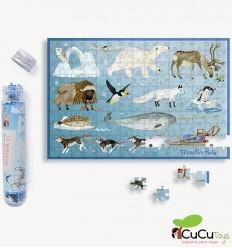 Moulin Roty - Mini puzzles Le Jardin
