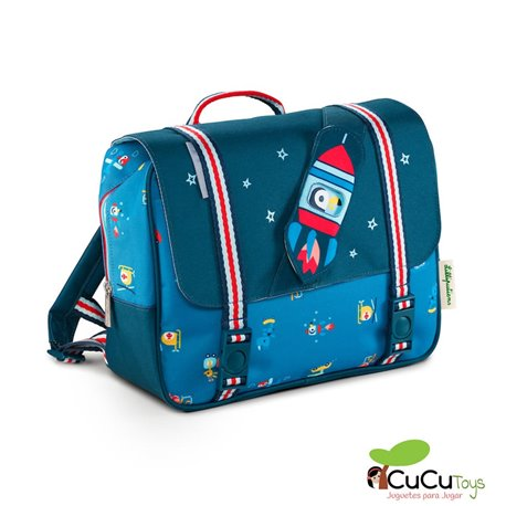 Lilliputiens - Cartera On the road A4 - Cucutoys