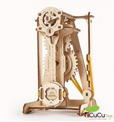 UGears - STEM Lab Pendulum, 3D wooden kit