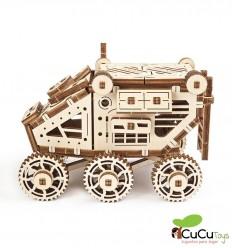 UGears - Martian rover, 3D mechanical model