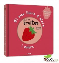 Mi libro de olores y colores. Frutas - Auzou