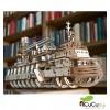 UGears - Navio de investigação, kit de madera 3D