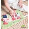 Lilliputiens - Alice Juego de personajes en miniatura - La familia de Alice la zorrita - Cucutoys