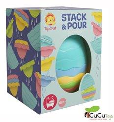 Tiger Tribe - Stack & Pour Bath egg