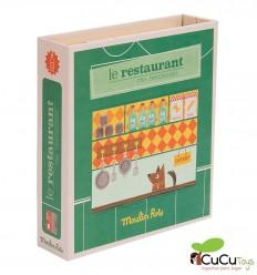 Moulin Roty - Restaurante, caja de oficios