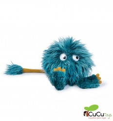 Moulin Roty - Choukette azul - Los Schmouks, muñeco de peluche
