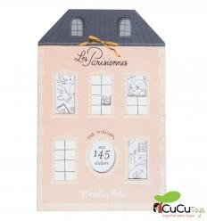 Moulin Roty - Cuaderno de pegatinas parisinas