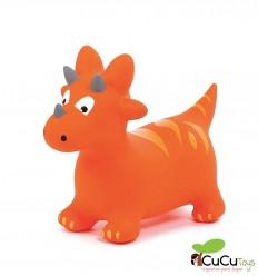 Ludi - Dinosaurio saltarín hinchable