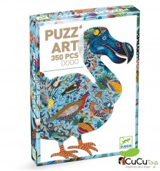 Djeco - Dodo, puzzle Artístico 350 pz