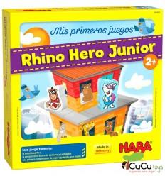 HABA - Meus primeiros jogos, Rhino Hero Junior, jogo de tabuleiro