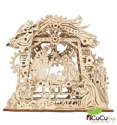 UGears - Nativity Scene, 3D mechanical model