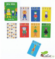 Moulin Roty - Happy Families, card game