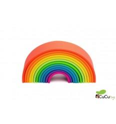 Dëna - Arco-íris Neon 12X, brinquedo de silicone