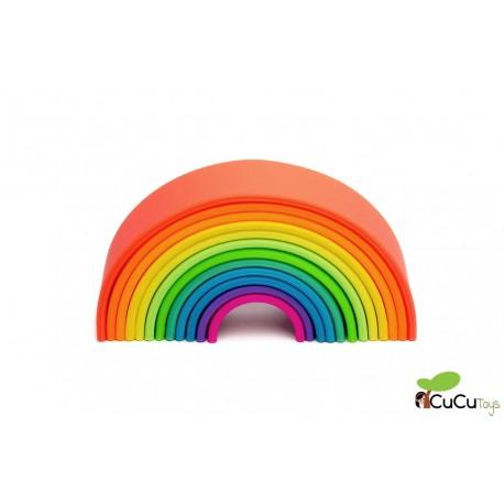 Dëna - Arcoiris Neon 12X, juguete de silicona ok