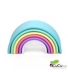 Dëna - Arcoiris Pastel, juguete de silicona