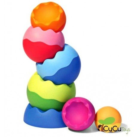 FatBrainToys - Apilable Tobbles, juguete educativo