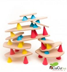 Piks medium - Construction toy 44 pieces