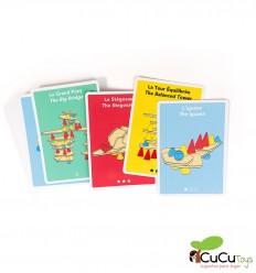 Cartões Criativos Piks - Brinquedo de Construção