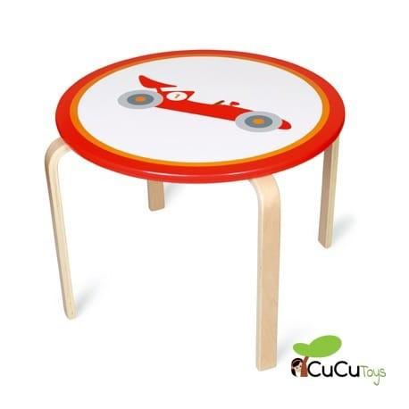 Scratch, mesa infantil, decoración Búho Lou