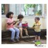 PlanToys - Timbal de juguete, instrumento musical infantil