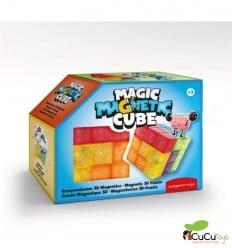 Magic magnetic cube, skill game