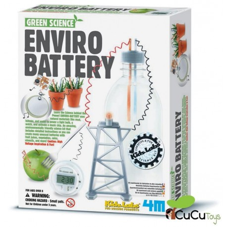 4M - Green Science Enviro Battery, juguete educativo