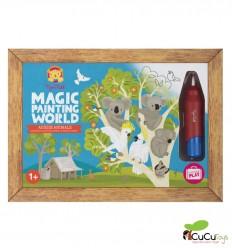 Tiger Tribe - Pintura mágica - Animales australianos
