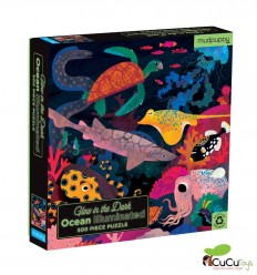 Tiger Tribe - Ocean, 500 pz Glow in the dark Puzzle