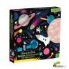 MudPuppy - Espacio, puzzle de 500 piezas que brilla en la oscuridad
