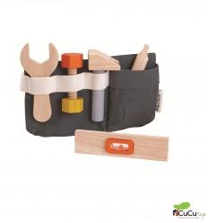 Plantoys - Cinturón de herramientas de madera