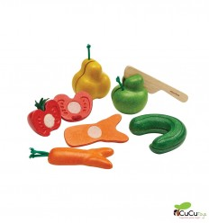Plantoys - Frutas y verduras imperfectas, Wonky Fruits