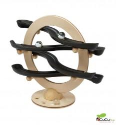 PlanToys - Click Clack curvado, juguete de madera eco