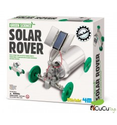 4M - Green Science Solar Rover, juguete educativo