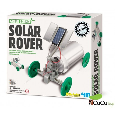 4M - Green Science Solar Rover, juguete educativo