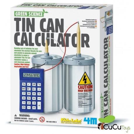 4M - Green Science Calculadora de latas, juguete educativo