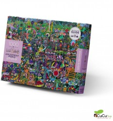 Crocodile Creek - Amusement Parks of the World, 750 pz puzzle